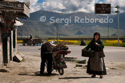 "Before reaching Lake Yamdork you can make a stopover in Nangartse to eat and taste the local beer. The local beer called chang with which we water our main course (pasta accompanied by rich bits of yak meat and tasted awkwardly with chopsticks) we head rises rapidly because of the high altitude at which we find ourselves. The language breaks out and hammer clan chief with questions of all kinds to which our partner responds nicely one after another, calmly and without the smile disappears from his face at any time. Unfortunately, as I read in forums of travelers, the traditional Tibetan hospitality has given way to an interested and false kindness, frank and spontaneous smile of old has become a wicked grin that outlines the new ""pastoralist false"" when their pictures folk costumes in exchange for a few coins, is the price of progress."