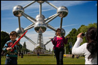 Belgium: Brussels. ATOMIUM In March 2004 held a rehabilitation process that lasted until February 2006