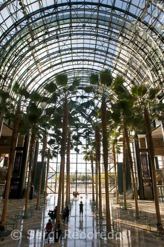 NEW YORK WORLD FINANCIAL CENTER Winter Garden lobby