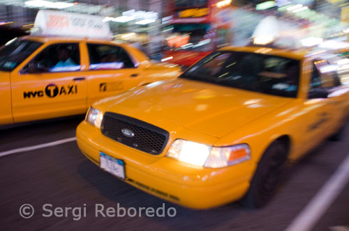 NEW YORK infinite number of yellow cabs each night travel Theater